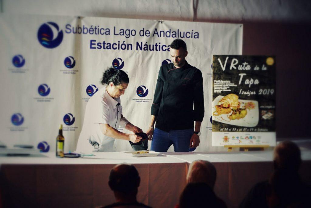 Masterclass de cocina en Iznájar