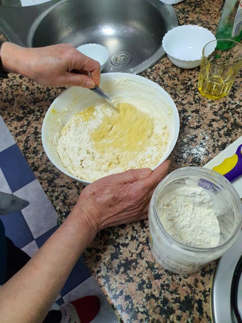 ¿Nos enseñas tu receta? Roscos - Antonia Torralbo