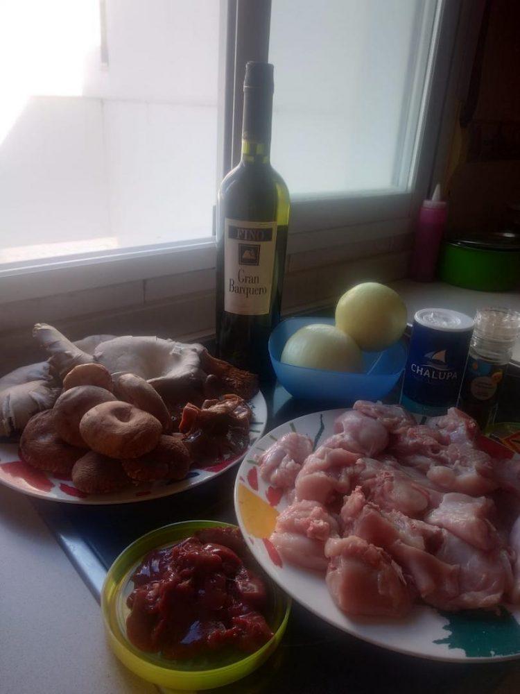 ¿Nos enseñas tu receta? Conejo en salsa con setas - Fran Barceló
