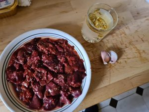 ¿Nos enseñas tu receta? Gazpacho y menudillo - Luis Jiménez Torralbo