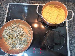 ¿Nos enseñas tu receta? Pasta con gulas y salmón - Jorge Segorbe