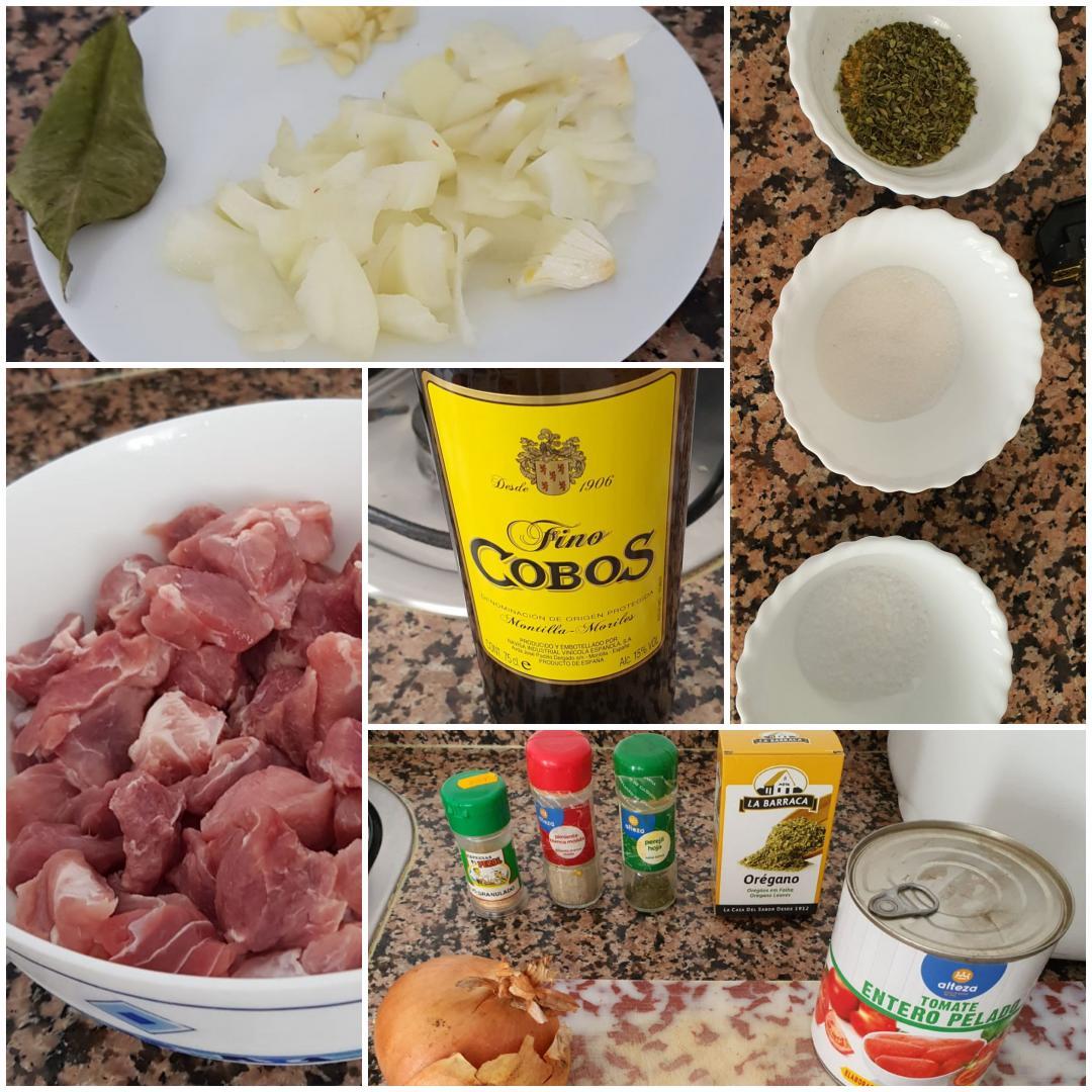 ¿Nos enseñas tu receta? Carne con tomate - Jesús Jiménez Torralbo