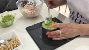 ¿Nos enseñas tu receta? Tartar de langostinos, nueces y aguacate